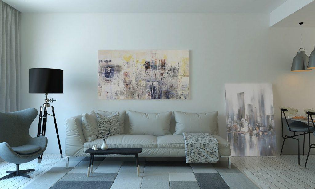peinture et revêtements sejour design