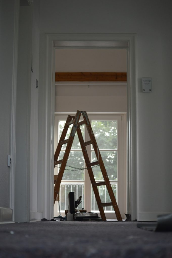 chantier peinture